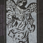 Angel Block Print