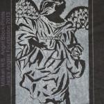 Angel Block Print