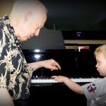 Grandpa Peter and Jack, 7/14/12
