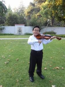Matthew Yee, violinist
