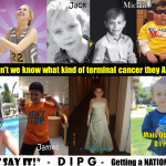 Journalism project for Childhood Cancer Awareness Month